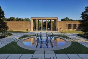 fountain with sculptures, James Haefner