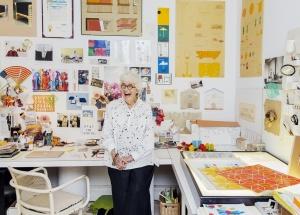Gere Kavanuagh in Studio