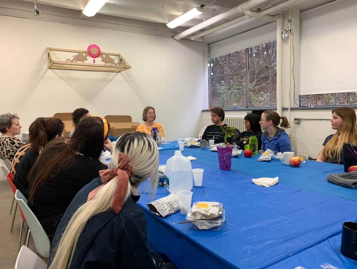 Visiting artists, critics, art historians and curators
